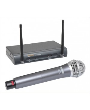Redback UHF Wireless Microphone System, Handheld Mic 16 Ch