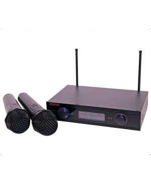 Redback UHF Wireless Microphone System 2Ch,2 Hand Mics