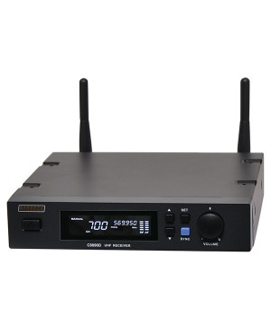 Redback UHF Wireless Microphone System 700 Channel Receiver C8890D
