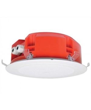 One Shot 20cm 100V 15W Ceiling EWIS Speaker White Grille CF2142