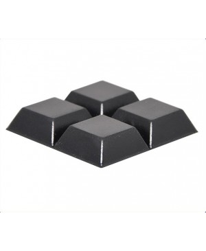 20mm Square Adhesive Rubber Feet Pack of 1000
