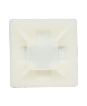 19mm Adhesive Cable Tie Mounts Pack of 1000 H4114A