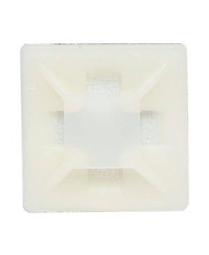 28mm Adhesive Cable Tie Mounts Pack of 1000 H4124A