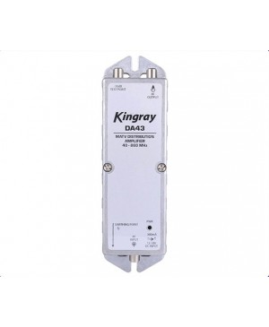Kingray MATV Distribution Amplifier 43dB 40-860MHz LX2081