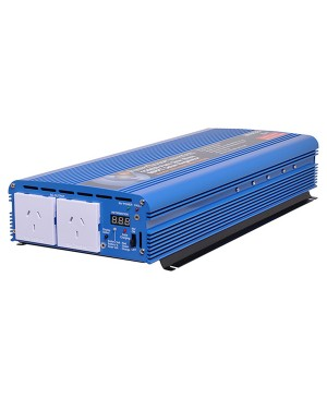 Powerhouse 1500W 12V To 240V Pure Sine Wave Inverter & Solar Charger M8133