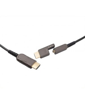 Dynalink 30m Removable Head Active Optical (AOC) HDMI Cable P7442