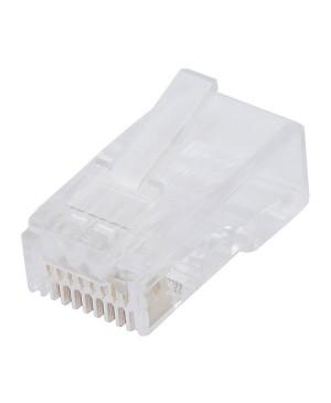 Altronics 8P8C RJ45 Modular Plug Cat6, Suit Solid Cable Pack of 100 PC1388