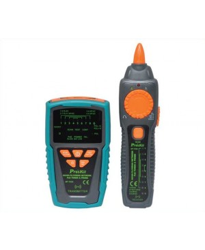 Pro'sKit Professional Cable Tracer & PoE LAN Cable Tester MT-7029 Q1340A