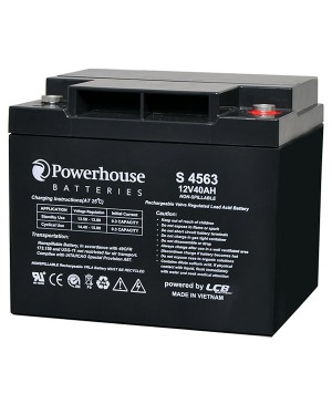 Powerhouse 12V 40Ah Sealed Lead Acid (SLA) Battery M6 S4563