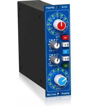 Midas 500 Series Modular Midas Microphone Preamplifier, Classic XL4 Filters 502V2