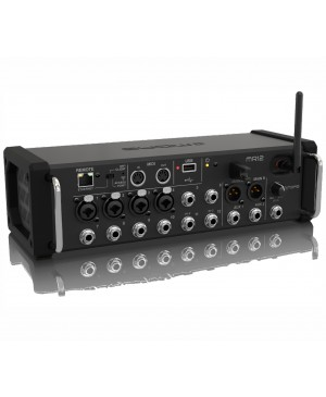 Midas 12-Input Digital Mixer for Tablets, 4 PRO Preamps, Wifi MR12