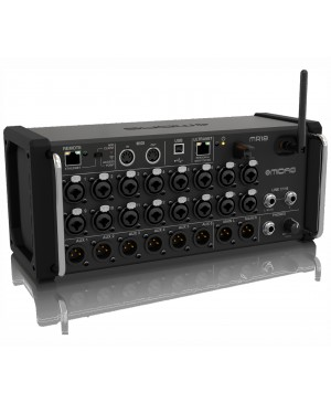 Midas 18-Input Digital Mixer for Tablets, 16 PRO Preamps, Wifi, USB MR18