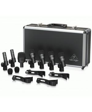 Behringer BC1200 7 Piece Drum Microphone Set In Case