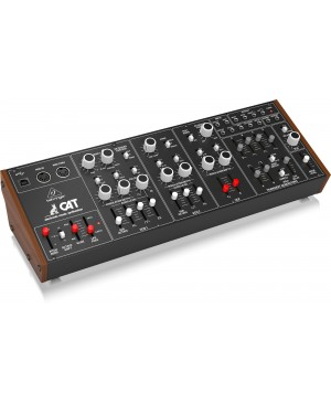 Behringer CAT Duophonic Analog Synthesizer, Dual VCOs, 4 Mixable Waveforms