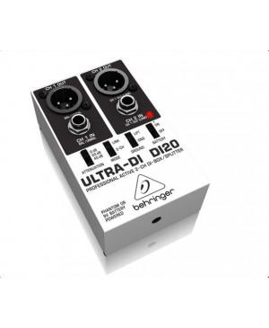 Behringer DI20 Active 2-Channel DI-Box / Splitter