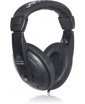 Behringer HPM1000-BK Studio Recording DJ Headphones, Black