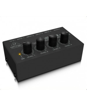 Behringer MX400 Low-Noise 4-Channel Line Mixer