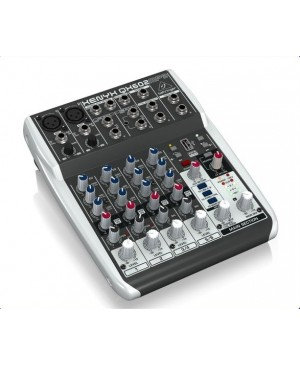 Behringer QX602MP3 6-Input 2-Bus Mixer,XENYX Preamps,MP3