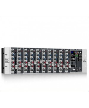 Behringer RX1202FX 12Ch Microphone Line Rack Mixer, Preamps