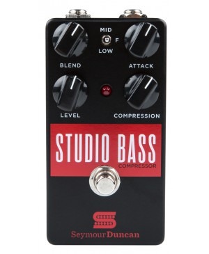 Seymour Duncan Guitar Pedal Studio Bass Compressor