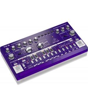 Behringer TD-3-GP Analog Bass Line Synthesizer, VCO, VCF, 16-Step, GRAPE
