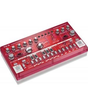 Behringer TD-3-SB Analog Bass Line Synthesizer, VCO, VCF, 16-Step, SUNBURST