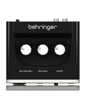 Behringer UM2 2x2 USB Audio Interface, Mic Preamp