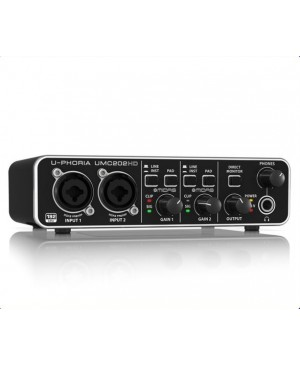 Behringer UMC202HD 2x2, 24-Bit/192 kHz USB Interface