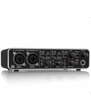 Behringer UMC204HD 2x4,24-Bit/192 kHz USB Audio/MIDI