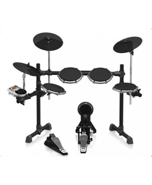 Behringer XD80USB 8-Piece Electronic Drum Set,175 Sounds