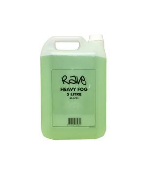 Rave Water Based Fog Machine Liquid 5 Litre AF1223