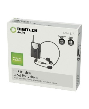 Digitech Channel B UHF Headband Microphone for AM4132 AM4118