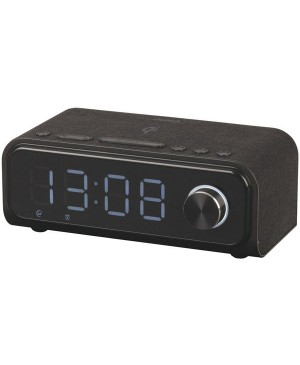 Digitech Alarm LED Clock Radio with QI Wireless Charging AR1936