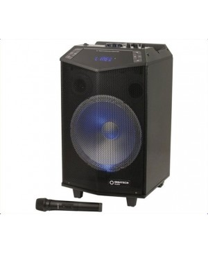 Digitech 30cm Rechargeable PA Speaker, Wireless Microphone CS2497