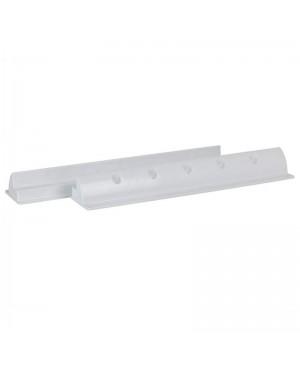 White ABS Solar Panel Spoiler Mounting Brackets, Pair