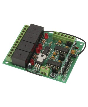 Response 4 Channel RC Relay Board LR8857