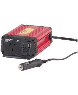 Powertech 150W (450W Surge) 12VDC to 240VAC Inverter with USB MI5130