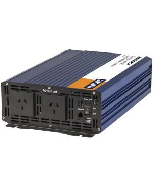 Powertech 2000 Watt 12VDC to 230VAC Pure Sine Wave Inverter MI5740