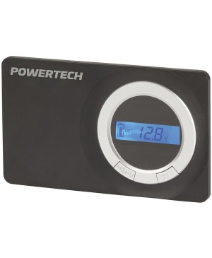 PowerTech 12/24V 30A Flush Mount PWM Solar Charge Controller, LCD Display MP3764