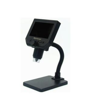 1080P Digital Microscope, 600X Zoom, 11cm HD Screen and 3.6MP CCD Sensor QC3193