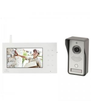 Techview 2.4GHz Digital Wireless 18cm LCD Video Doorphone