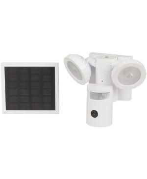 Nextech 720p Motion Wi-Fi Camera with Round Flood Lights QC8047