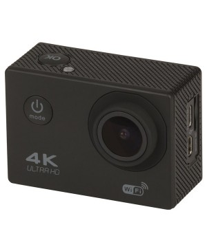 4K UHD Wi-Fi Action Camera with LCD QC8071