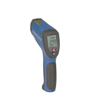 Protech High Temperature Non-Contact Thermometer, K-Type Probe, USB QM7430