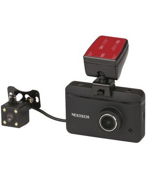 Nextech SHD Car Dash Camera with Rear Camera QV3849