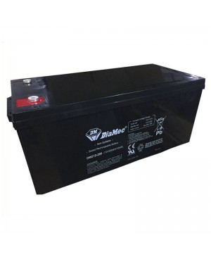 DiaMec 12V 200Ah AGM Deep Cycle Battery DMD12-200 SB1686