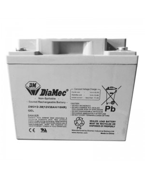 DiaMec 12V 38Ah Deep Cycle SLA Battery DM12-38 SB1699