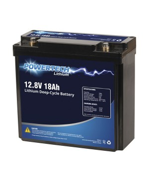 PowerTech 12.8V 18Ah Lithium Deep Cycle Battery SB2212