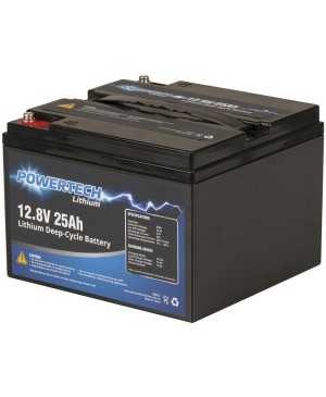 PowerTech 12.8V 25Ah Lithium Deep Cycle Battery SB2213