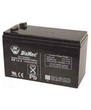 DiaMec 12V 9Ah SLA Battery DM12-9 SB2487
